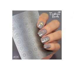 Fashion nails Deep 6