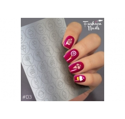 Fashion nails Deep 3