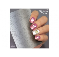Fashion nails Deep 8